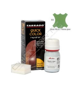 Tinta reparadora Tarrago Quick-Color 25ML verde intenso - 650