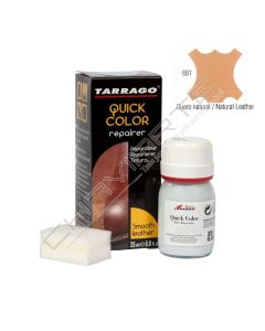 Tinta reparadora Tarrago Quick-Color 25ML couro natural - 661