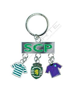Porta-Chave Metal Clube Sporting 004