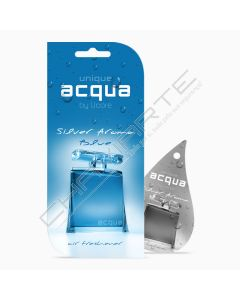 Acqua Car Air Freshener - Aroma Silver Blue