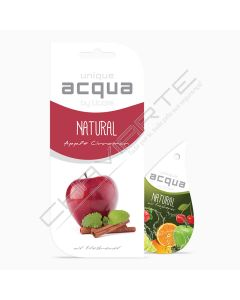 Acqua Car Air Freshener - Natural Fruta Maça - Canela