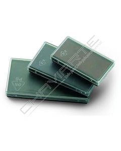 Almofada para carimbo Colop E40 Verde