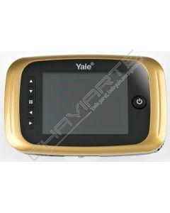 Visor Yale Electrónico com gravação (latonado) serie 5000
