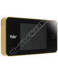 Visor Yale Electrónico standard (latonado) serie 500