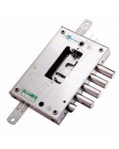 Fechadura Mottura, porta blindada 4 pernos 52N571D28 direita  de nucleo compact 3 chaves