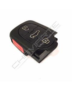 Comando Audi de Três botões Redondo 4DO...K Compatível