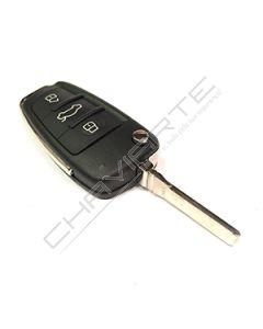 Comando Audi de Três botões Modelo Novo Compatível(8EO837220L-OT-OF-OG)