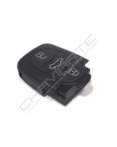 Caixa de Pilha CR1620 de Três Botões Para Comando Audi