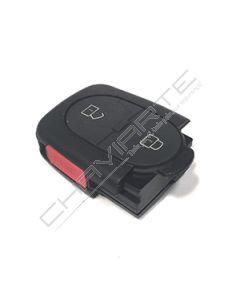 Caixa de Pilha CR2032 de Dois Botões e Botão de Emergência Para Comando Audi