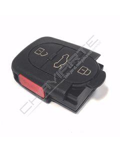 Caixa de Pilha CR1620 de Três Botões e Botão de Emergência Para Comando Audi