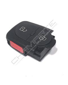 Caixa de Pilha CR1620 de Dois Botões e Botão de Emergência Para Comando Audi