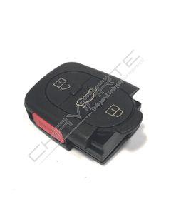 Caixa de Pilha CR2032 de Três Botões e Botão de Emergência Para Comando Audi