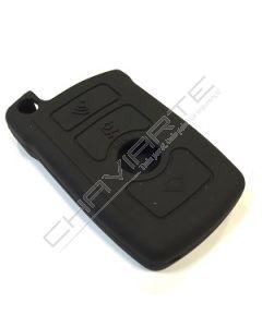 Capa Silicone BMW Três Botões Negro