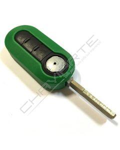Caixa Verde para Comando Flip de Três Botões Fiat SIP22