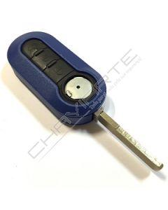 Caixa Azul para Comando Flip de Três Botões Fiat SIP22