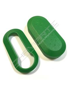Capa Verde para Caixa Flip de Três Botões Fiat SIP22