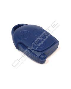 Caixa de Três Botões Para Comando Azul Ford