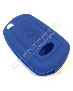 Capa silicone Land Rover, flip três botões, azul