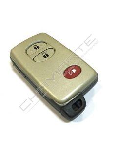 Caixa de Três Botões Para Comando Smart Toyota (Buzina)
