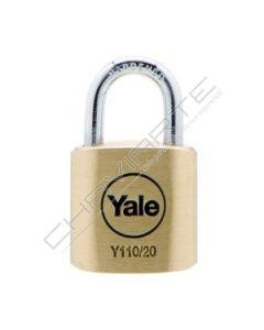Aloquete Yale 25mm latão