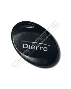 Chave especial Dierre original Key Control (chave transponder)