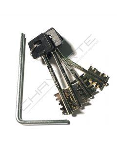 Segredo Cisa Cambio Facil 06520.50.1 ( 3 chaves)