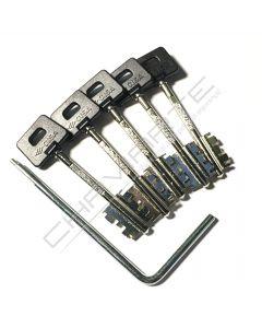 Segredo Cisa Cambio Facil  06520.51.1 ( 5 chaves )