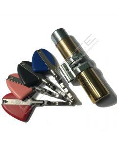 Cilindro Fichet F3D Monobloco Invicta Kit (cilindro+espelho rotativo+capa) Dourado
