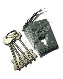 Segredo Potent de gorges para porta blindada 1827D ( chave 5PT12)
