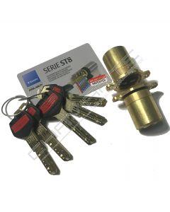 Cilindro ST8 Chaviarte ST8F3636L para portas Fichet