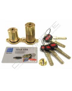 Cilindro ST8 Chaviarte ST8F3655L para portas Fichet
