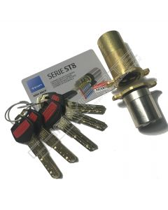 Cilindro ST8 Chaviarte ST8F3655N para portas Fichet