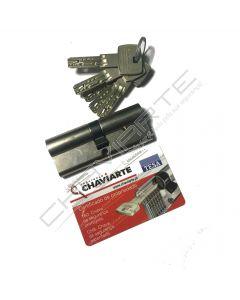 Cilindro CH8 Chaviarte 40x40mm niquelado