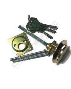 Cilindro Yale exterior para fechadura de sobrepor A=29mm de 6 Pinos Y2200031