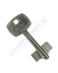 Chave paletão BTV original Cofre 03166 (pedido à fábrica por código original)