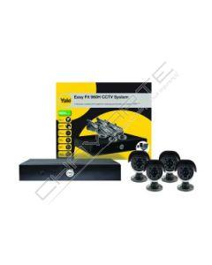 CCTV Yale Easy Fit 960H - 4 Câmaras