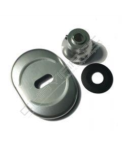 Kit limitador de abertura Dierre new creta, argento, ZKL000024