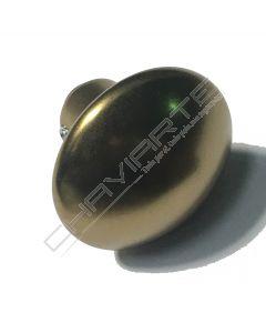 Puxador Dierre Giugiaro de bola fixa, bronze, ZPM000012