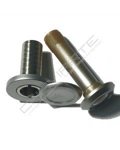 Visor Dierre 160º, prata, ZSP000011