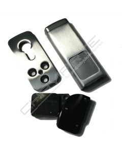 Espelho de segurança Minimag, cromado, MG100