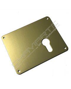 Espelho Mottura 95422DBR00 para cilindro europeu, direito, bronze