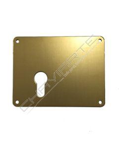 Espelho Mottura 95422SBR00 para cilindro europeu, esquerdo, bronze