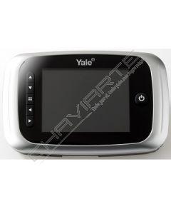 Visor Yale Electrónico com gravação (prata) serie 5000