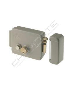 Fechadura Yale eléctrica com cilindro duplo solto e botão interno E60, direita, Y67800601