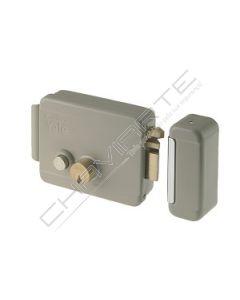 Fechadura Yale eléctrica com cilindro duplo solto e botão interno E60, esquerdo, Y67800602