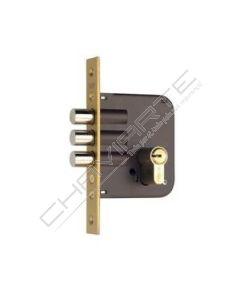 Fechadura YALE 8913 de 50 Cil. HS-6 30X30 Escudo M3 Bicapa