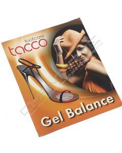 Meia palmilha em gel Tacco Gel-Balance