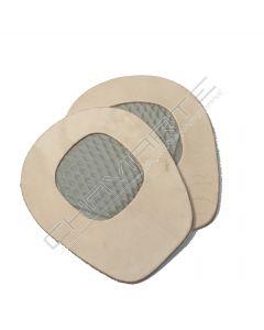 Almofada anti-deslizante Transparente Pele com latex