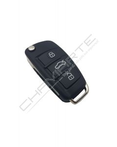 Comando Audi Q7/A6 Flip 868 Mhz Transponder 8E (4F0837220R/F)