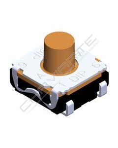 Botão Quatro Contactos Táctil Longo 0.05A,32Vdc